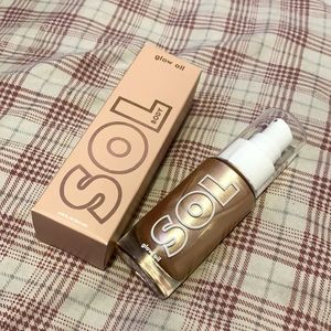 Colourpop Sol Body Glow Oil in Rose MINI